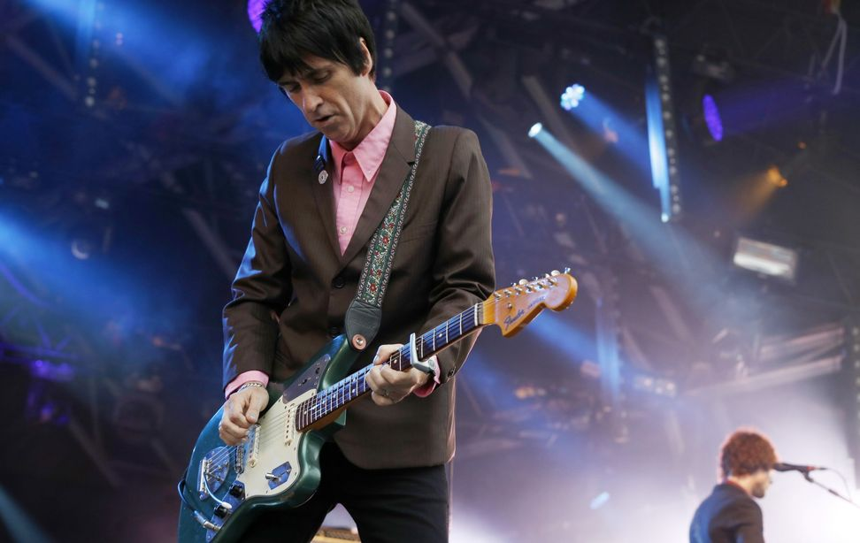 "Johnny Marr on the guitar and ""beautiful melancholy"" 