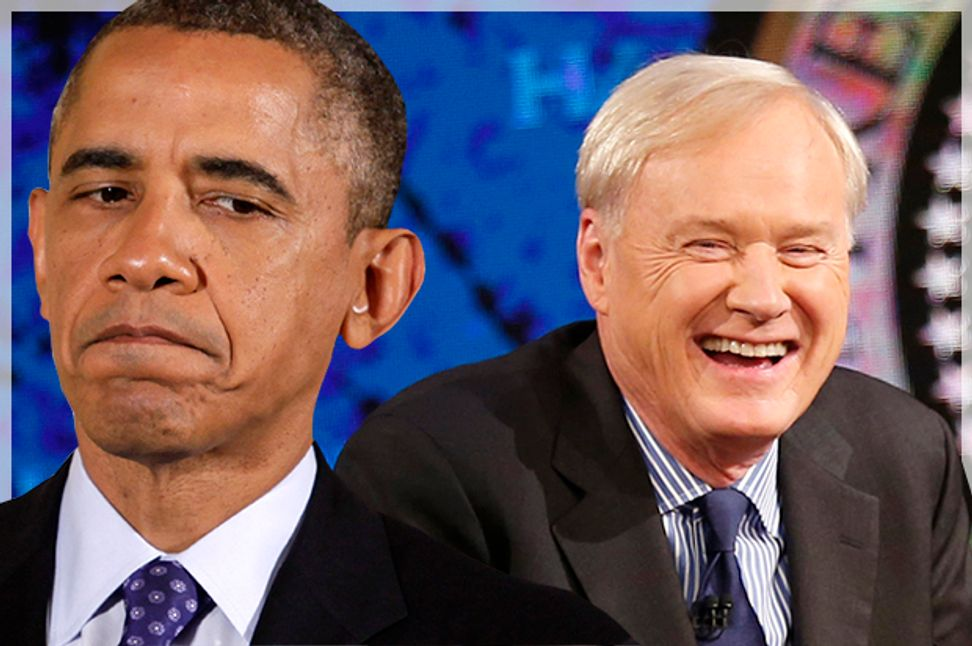 Chris Matthews vs. Obama: How the president lost one of his top supporters