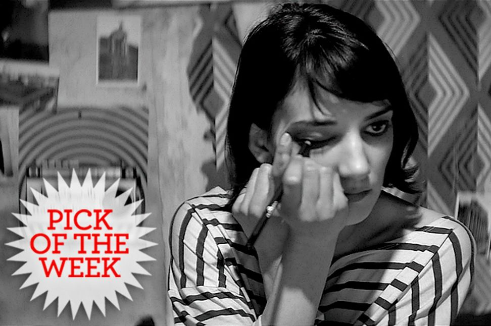"""""""A Girl Walks Home Alone at Night"""": The black-and-white, feminist Iranian vampire western you've been waiting for"""
