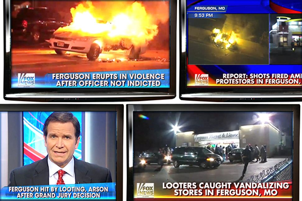 "The right's vile Ferguson ploy: Why they really want to focus on ""riots"""