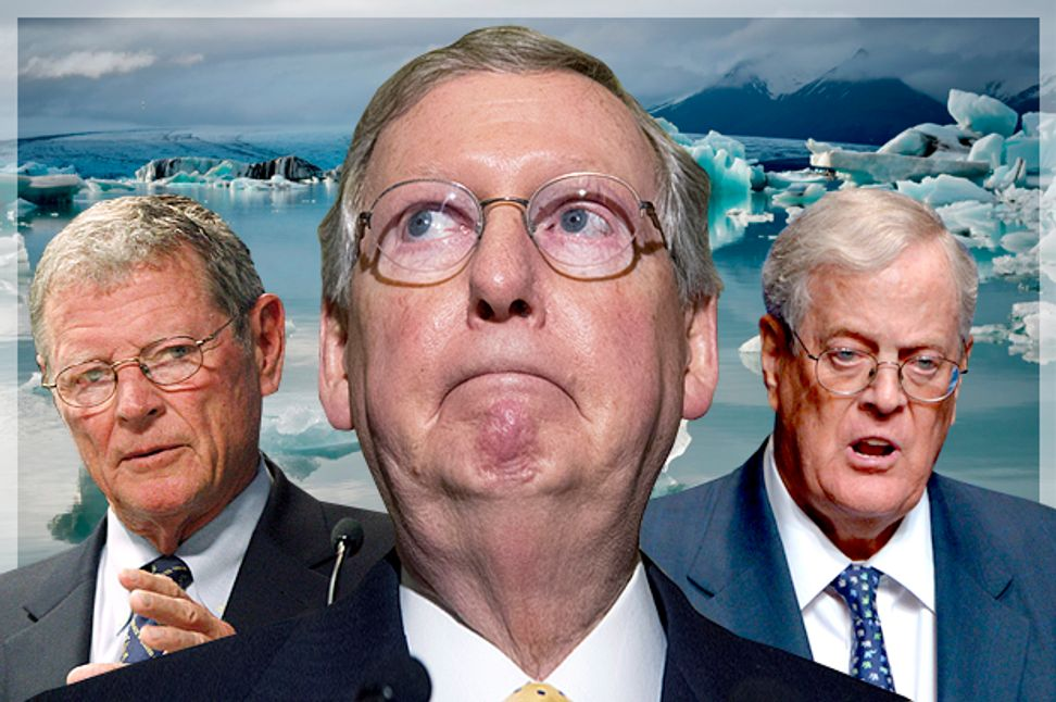 GOP's frightening plan to melt the planet: Koch $, burning fossil fuel, and junk science | Salon.com
