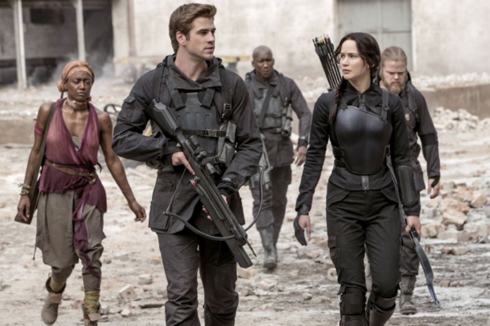 "How J.Law morphed into Katniss: ""Mockingjay"" is a perfect metaphor for Hollywood's blockbuster machine"