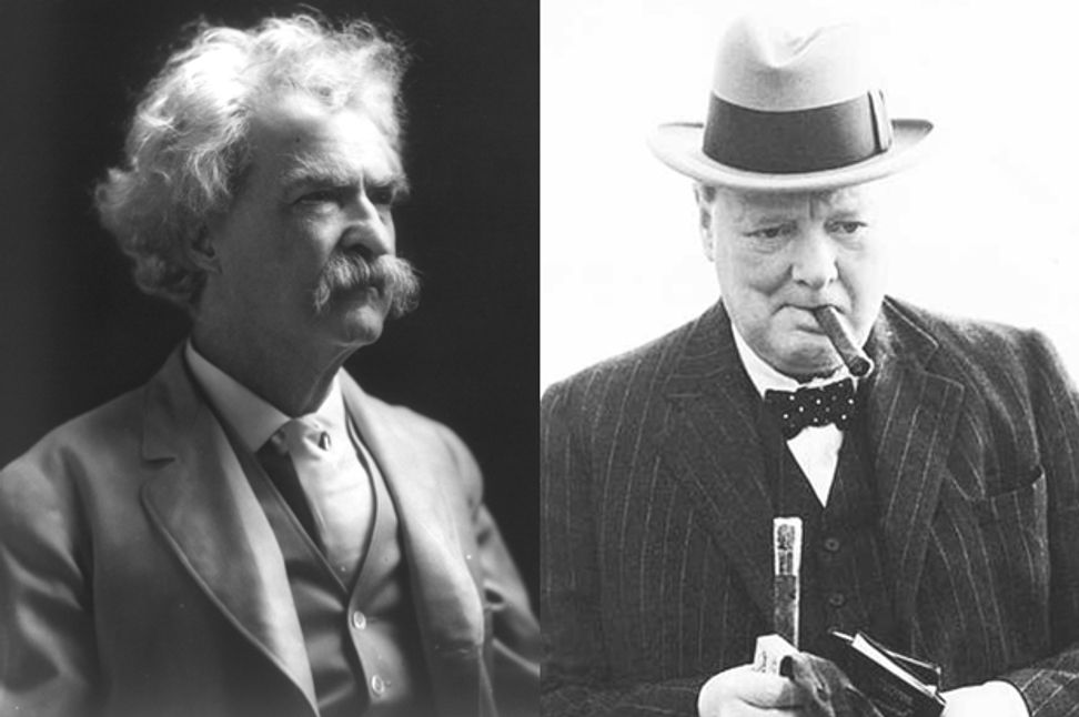 When Mark Twain roasted Winston Churchill: Two master wits on the same stage | Salon.com