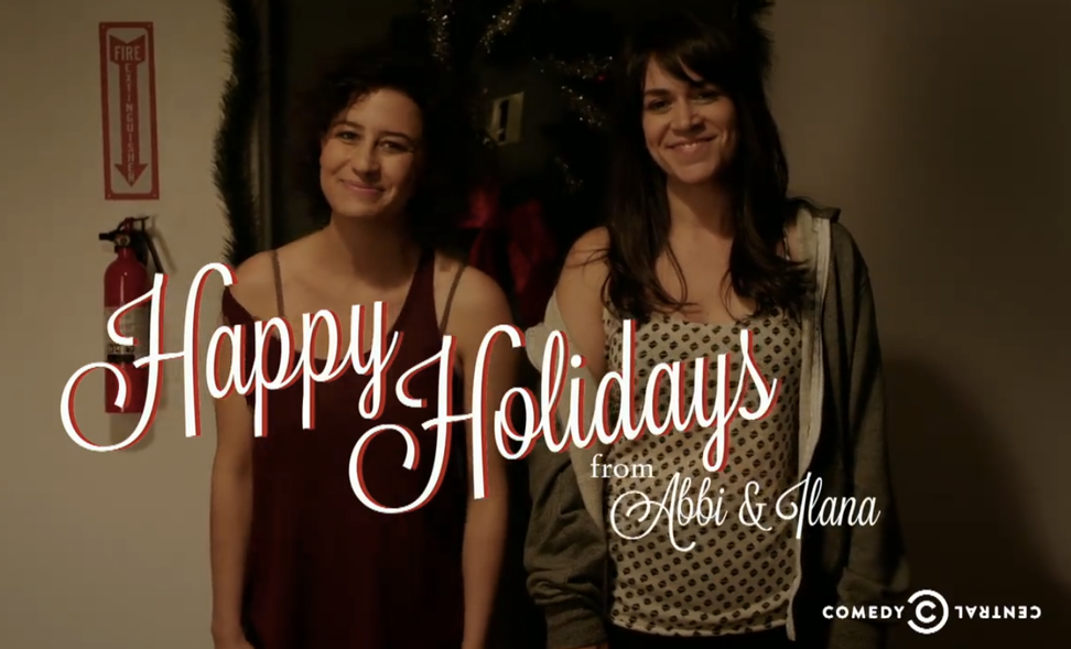 """""""Avoid hipster libertarians"""": Hilarious holiday party tips from """"Broad City"""""""