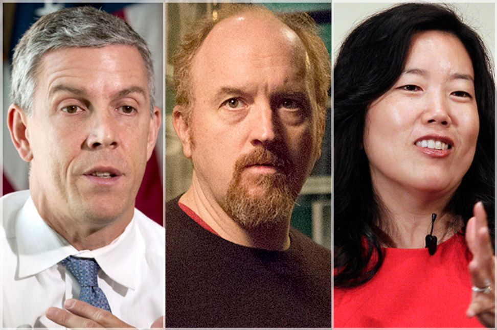 Exposing the charter school lie: Michelle Rhee, Louis C.K. and the year phony education reform revealed its true colors  | Salon.com