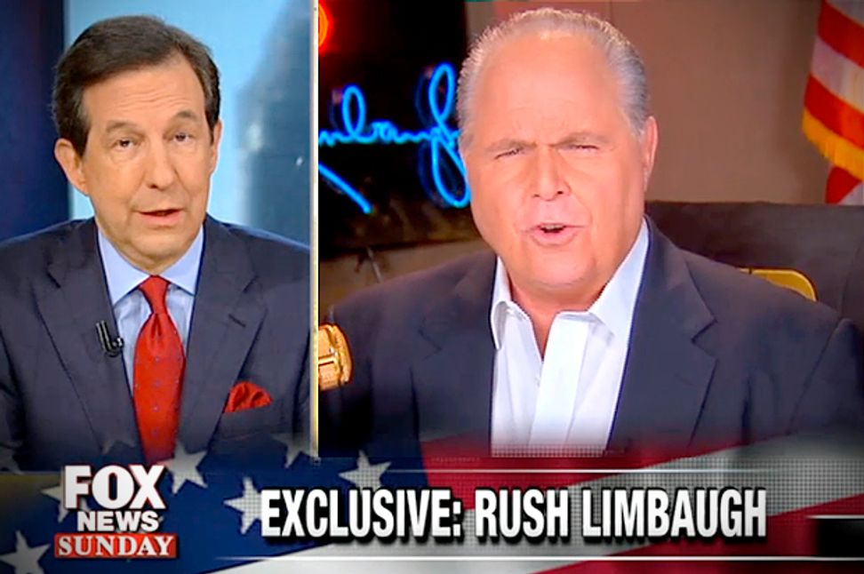 Fox's mortifying Limbaugh spat: Titans of GOP clash over government shutdown