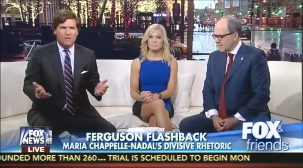 """Tucker Carlson: Talking about white privilege is """"openly bigoted, openly racist"""""""