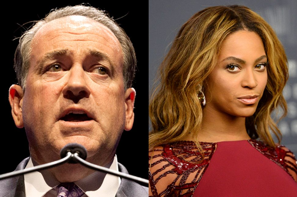 "Evangelicals' racist ""purity"" culture: What's really behind Huckabee's Beyoncé slur"