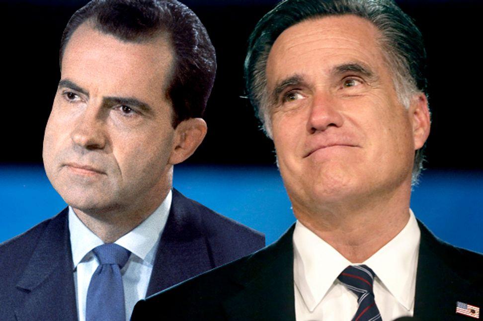 "Mitt's ""Tricky Dick"" problem: Why his anti-poverty sham is so Nixonian | Salon.com"