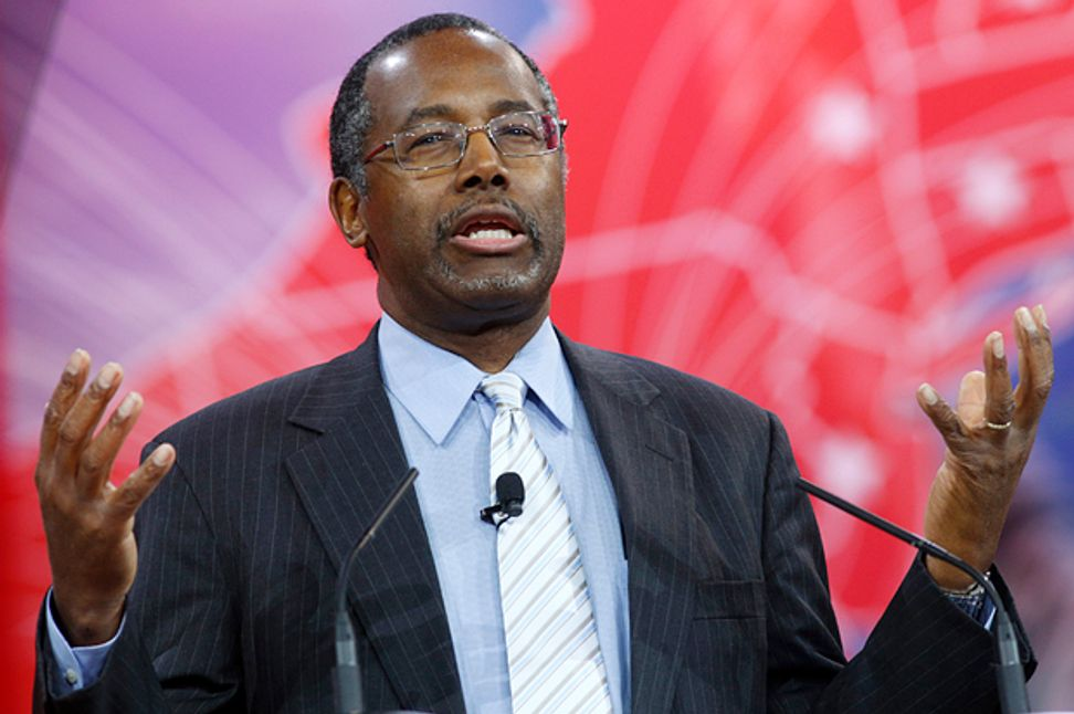 """Maybe it's just propaganda"": Ben Carson defends his ridiculous anti-science philosophy"