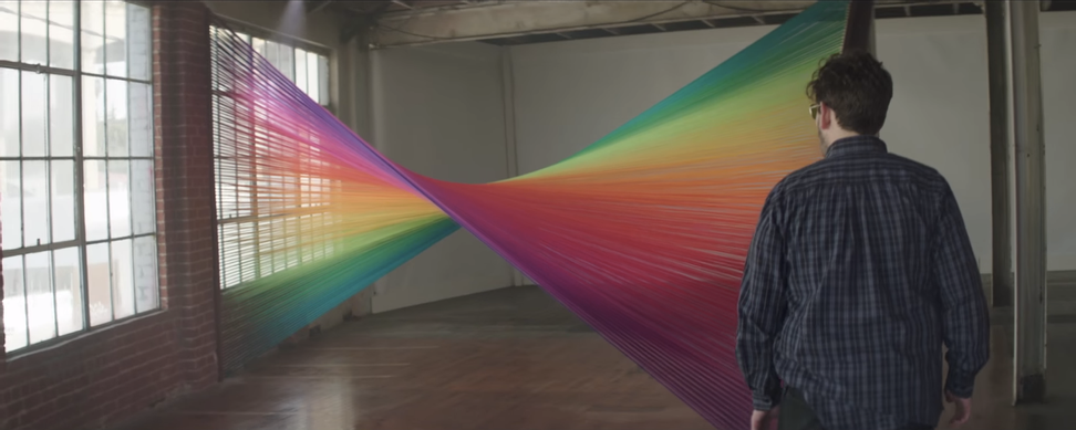Amazing video shows colorblind people seeing colors for the first time