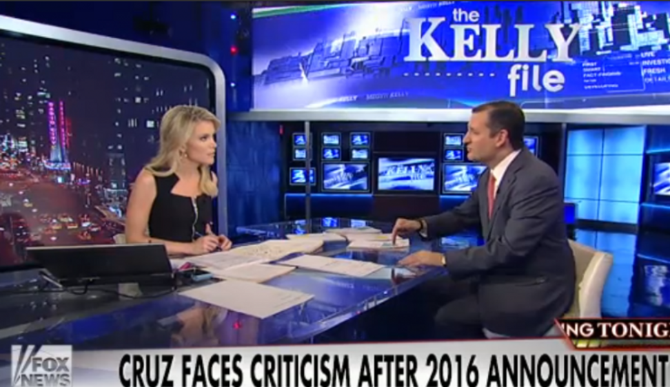 "Megyn Kelly calls out Ted Cruz: ""What have you actually accomplished?"""
