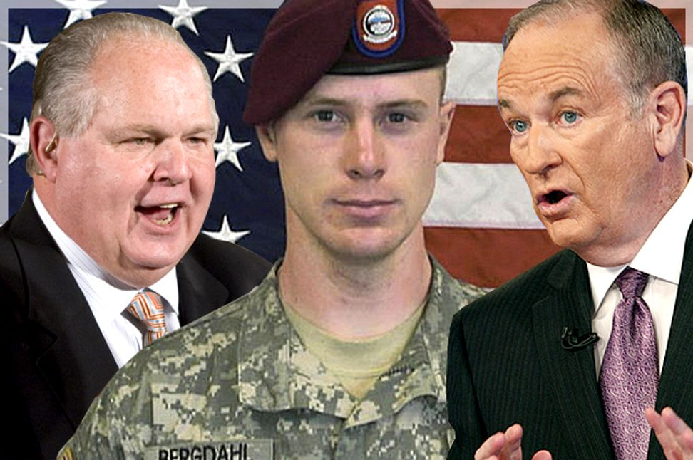 The right's Bergdahl calamity: How Bill O'Reilly & Rush Limbaugh discard America's norms