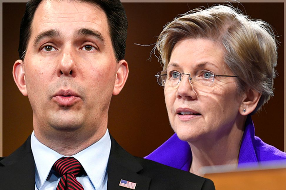 Hidden secrets of the right-wing brain: Do you like Scott Walker or Elizabeth Warren? New research explains why   Salon.com
