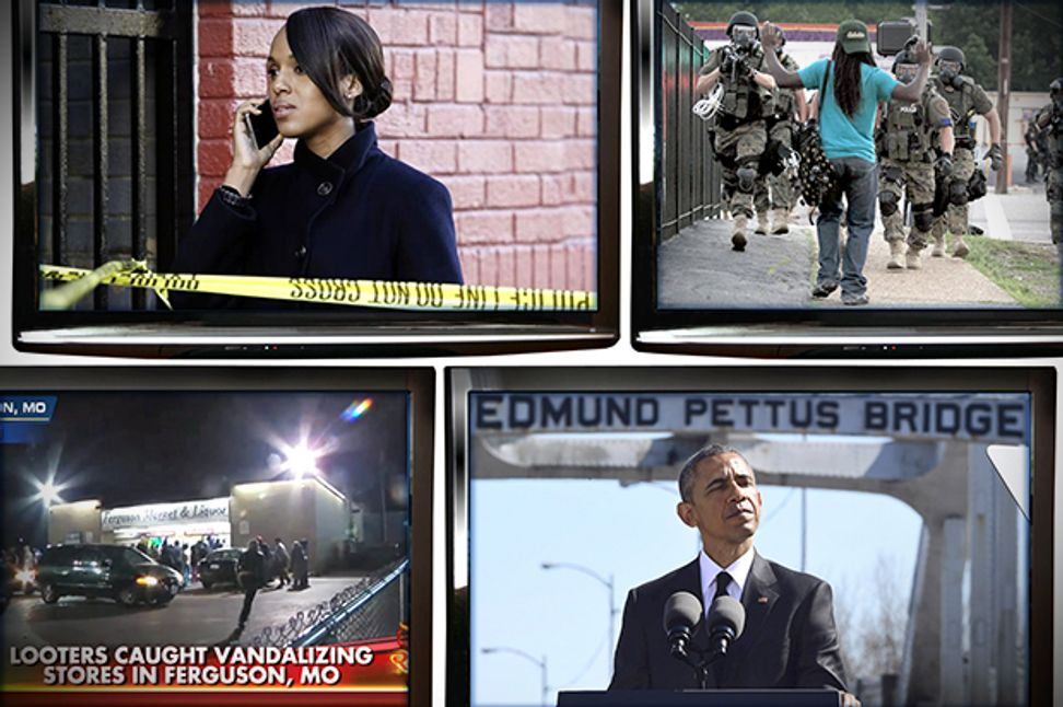 "America's ""black body"" reality: How Selma, ""Scandal"" & Ferguson reveal an ugly truth 