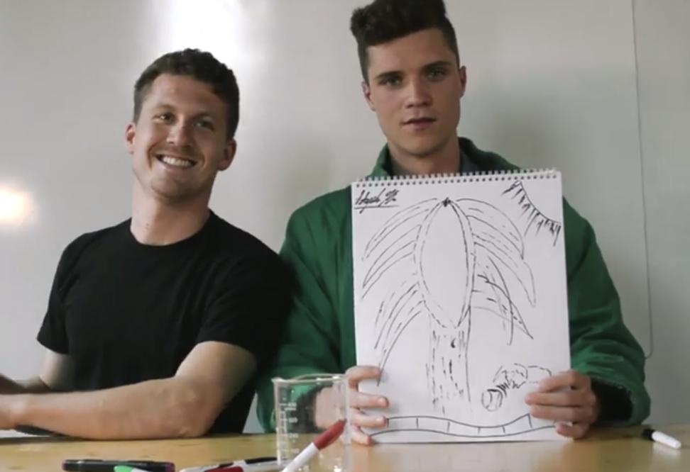 """Unwilling vaginas make me really uncomfortable"": Sensitive men draw their ideal vaginas"