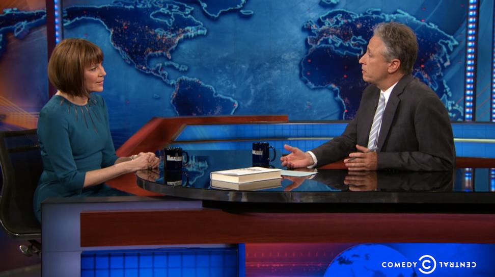 "Jon Stewart smacks down Judith Miller: You drove us into the ""devastating"" Iraq war"