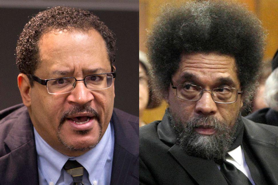 """Calling Obama a 'global George Zimmerman'? No. No."":  Michael Eric Dyson sounds off on Cornel West, Obama & his critics   Salon.com"