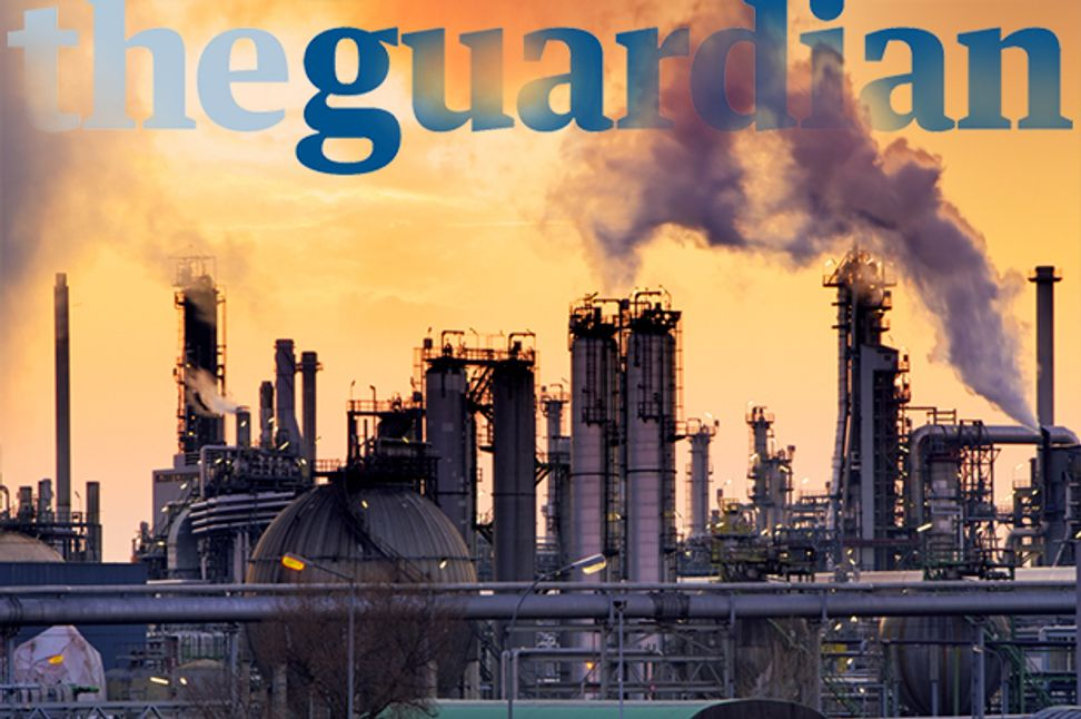 The Guardian's radical attack plan: How the newspaper is taking sides in the Climate Wars