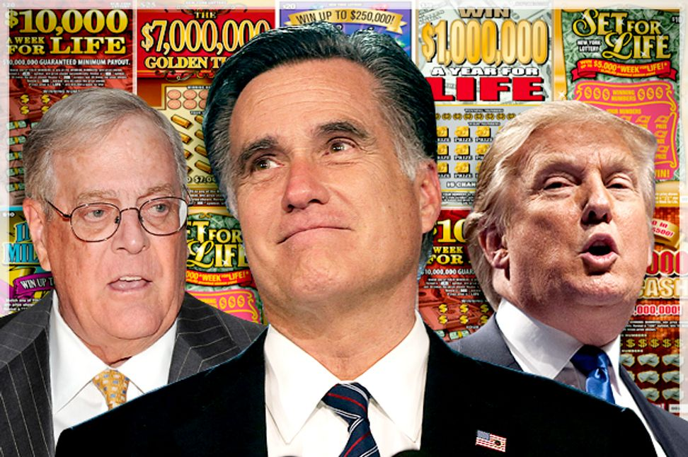 The GOP's lottery-ticket philosophy: How extreme wealth is deranging American politics | Salon.com