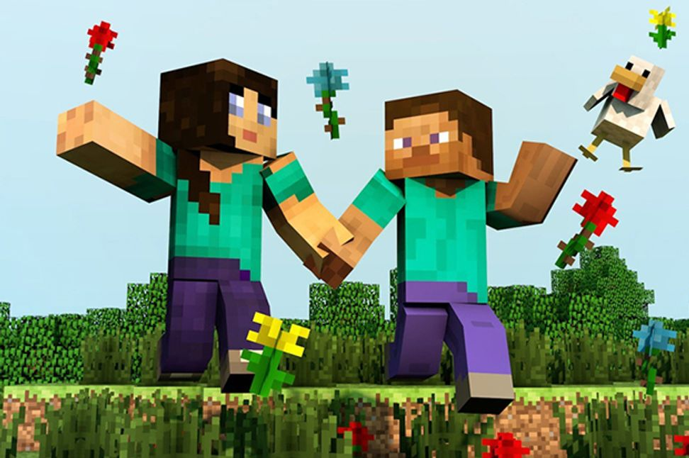 Minecraft strikes a small blow for gender balance
