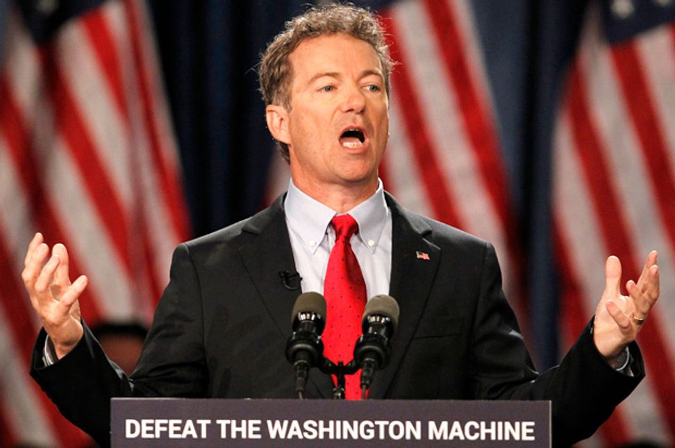 Rand Paul's civil rights fiasco: How Jon Stewart just unmasked him -- and exposed libertarians' perverted view of freedom