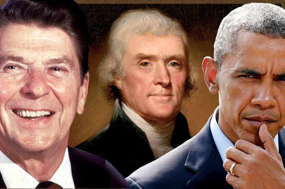 Thomas Jefferson's torturous afterlife: How Ronald Reagan and the Tea Party try to steal his legacy | Salon.com