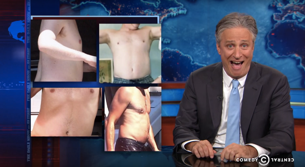 """The Daily Show"" weighs in on ""Dad Bod"" sexism: Society will never value ""Mom Bods"" in the same way"