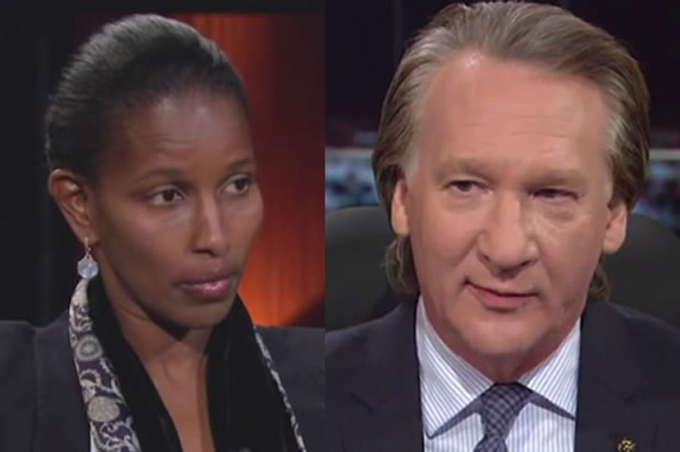 Bill Maher and Ayaan Hirsi Ali on how to convince liberals that Islamic extremism isn't about diversity