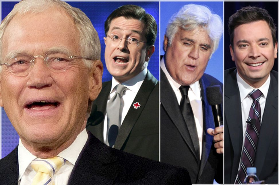 We need David Letterman's America: How the Leno/Fallon/Colbert choice defines us and how we see the world | Salon.com
