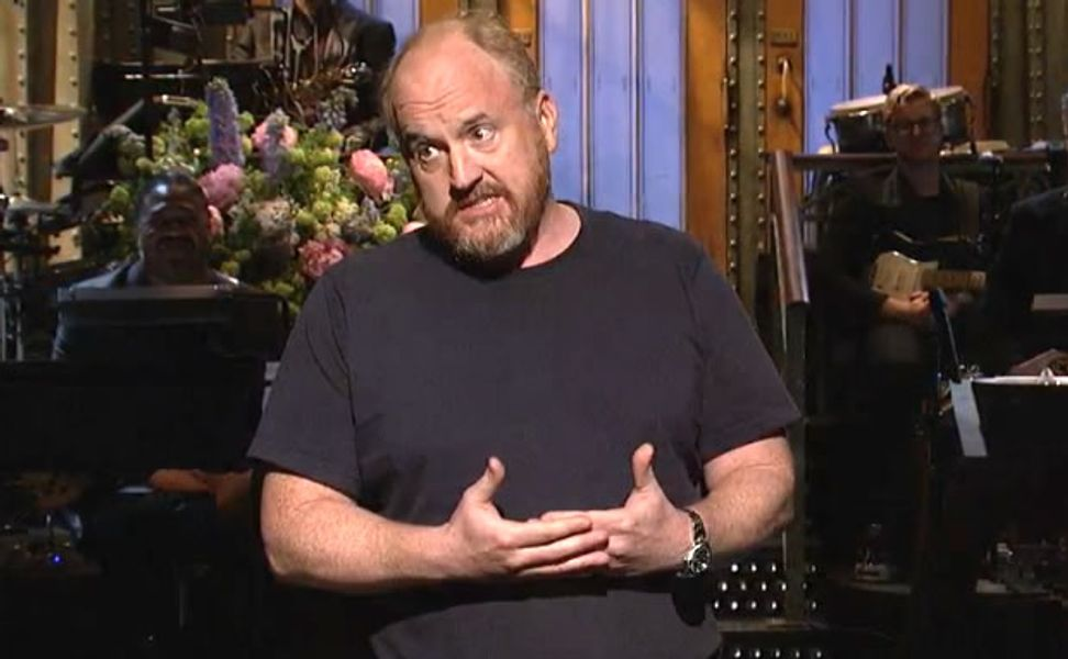 "Louis C.K. apologizes for his ""mild racism"": ""It was the best I could do coming out of the '70s!"""