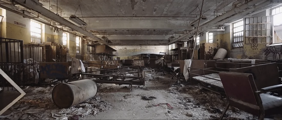 Short film captures the ghostly magnificence of an abandoned psychiatric hospital
