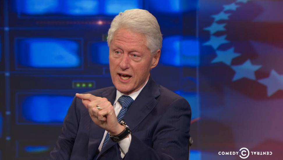 "Bill Clinton schools Donald Trump on ""The Daily Show"": His ramblings on Mexican immigration were not just bizarre — but ""wrong"""