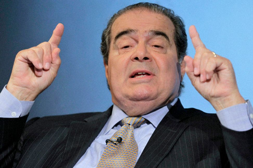 """""""God has been good to us"""": Justice Scalia walks all over First Amendment by claiming government can promote religion"""