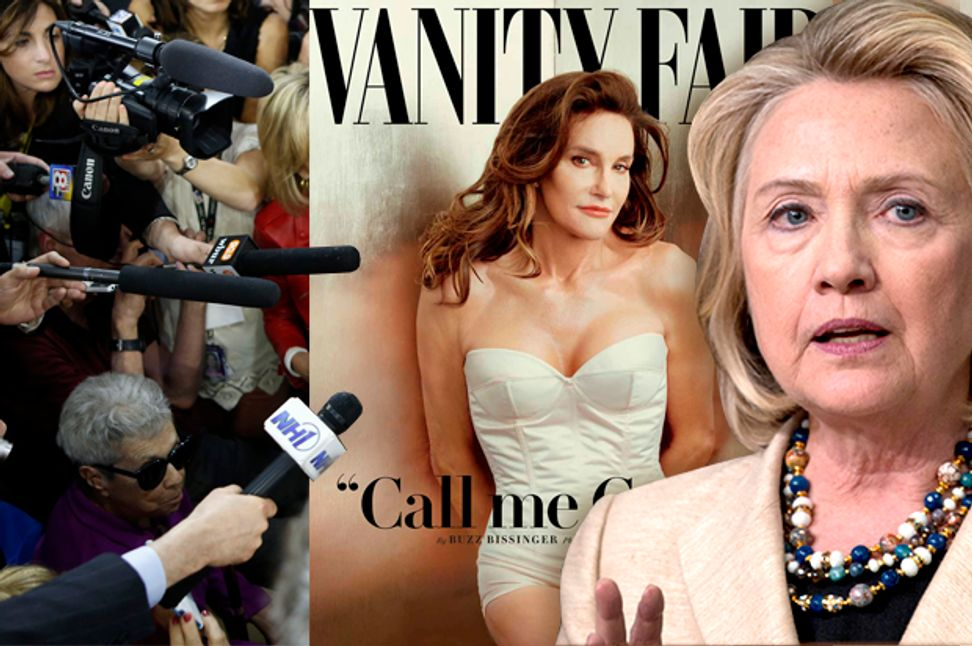 """The Duggars and Caitlyn Jenner are the """"real news"""": The reality that the Hillary Clinton media spectacle wishes desperately that you'd ignore 