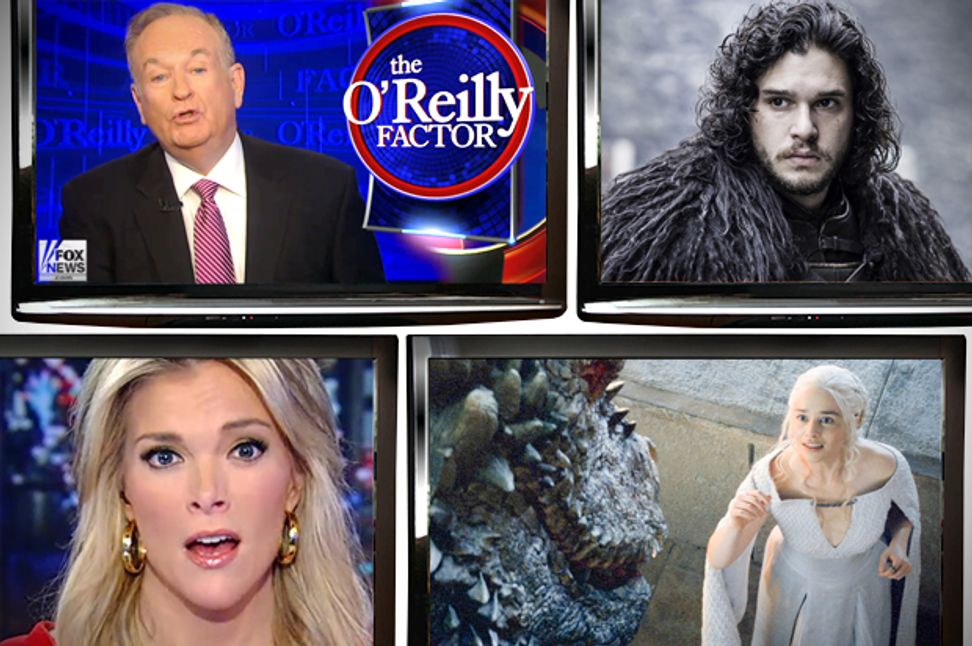 "Fox News covers ""Game of Thrones"": People think the White Walkers are evil just because they're white! 