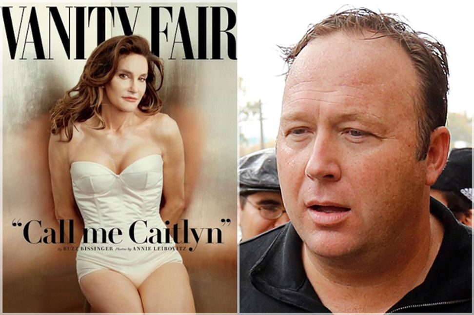 Alex Jones has a (predictably insane) Caitlyn Jenner conspiracy theory
