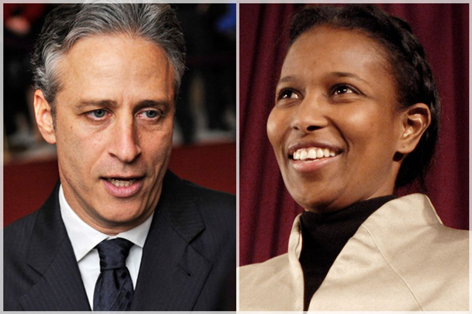 Ayaan Hirsi Ali vs. Jon Stewart: Islam, liberals, and the media's dangerous double standard | Salon.com