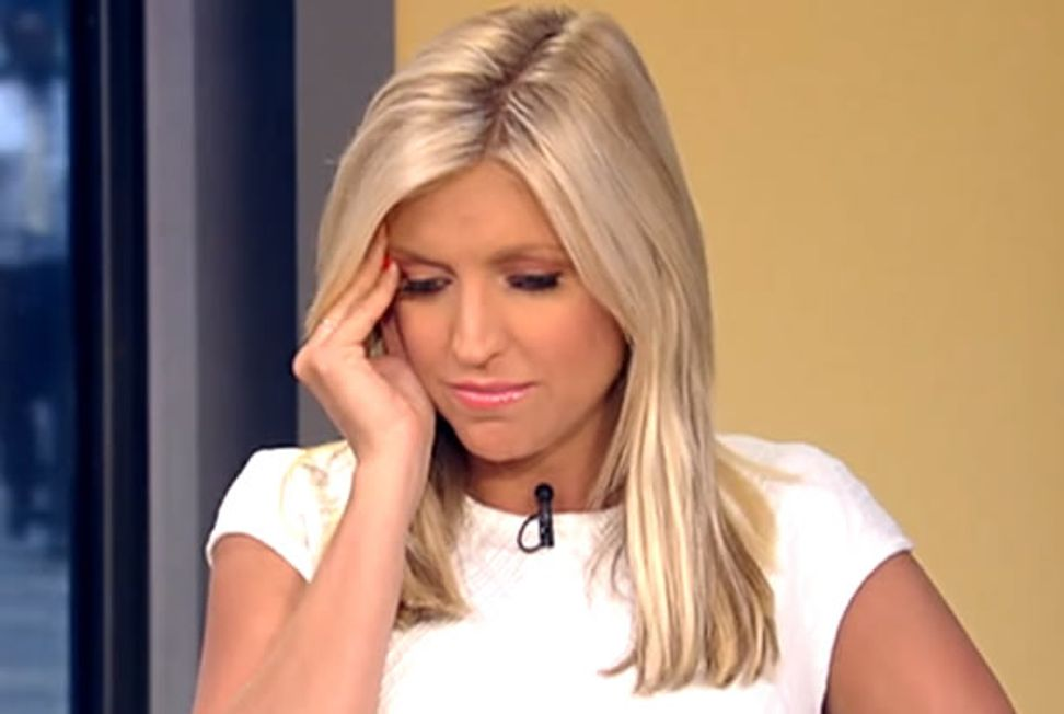 """Fox News' Ainsley Earhardt can't even bear to hear atheist arguments anymore: """"I'm so tired of protecting the minority!"""""""