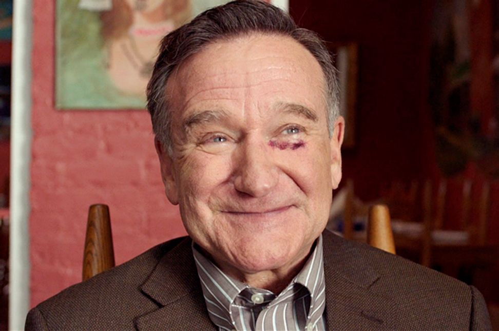 """""""Robin Williams could be the loudest guy in the room even when he's not talking"""": The director of """"Boulevard"""" opens up about working with the late legend"""