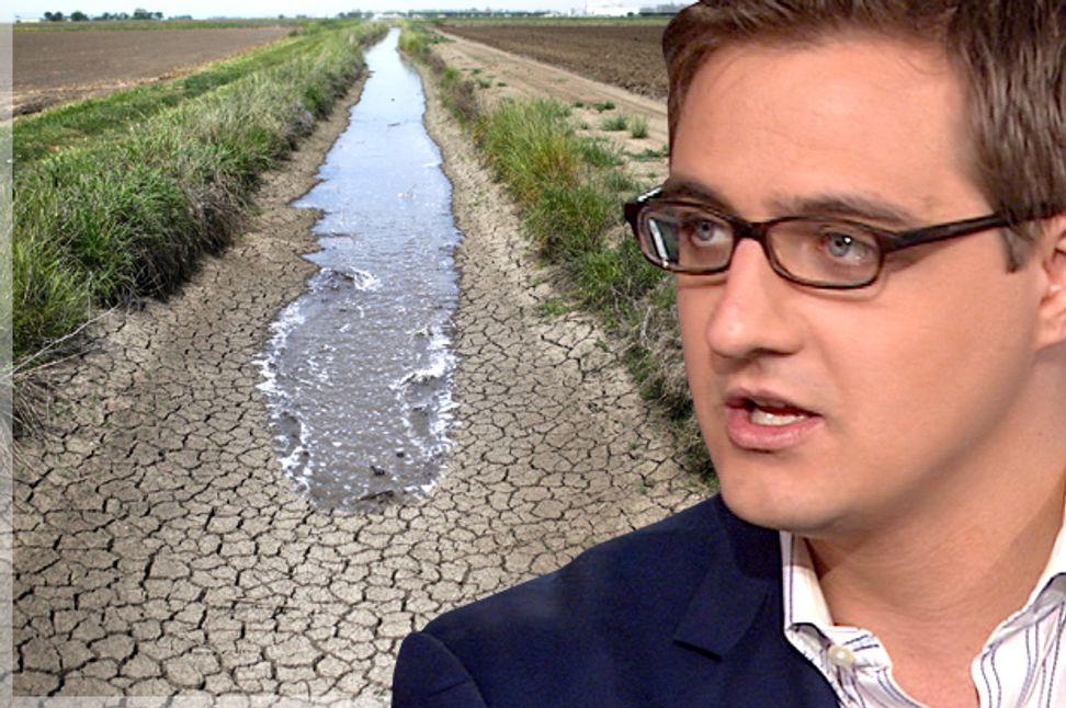 """People choose their villain"": Chris Hayes on the epic battles surrounding California's drought | Salon.com"