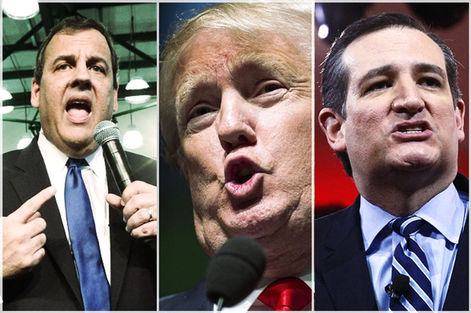 GOP's toxic white male bluster: Trump, Cruz and Christie bully to overcompensate | Salon.com