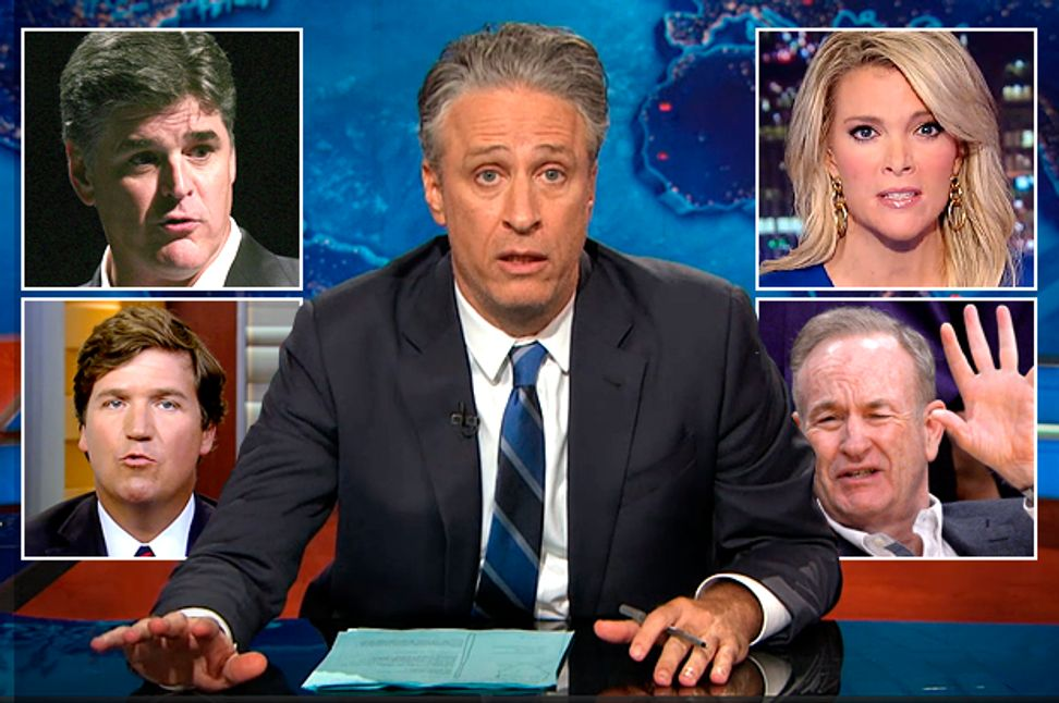 Fox News wore Jon Stewart down: How 16 years of debunking right-wing lies exhausted the last honest man | Salon.com