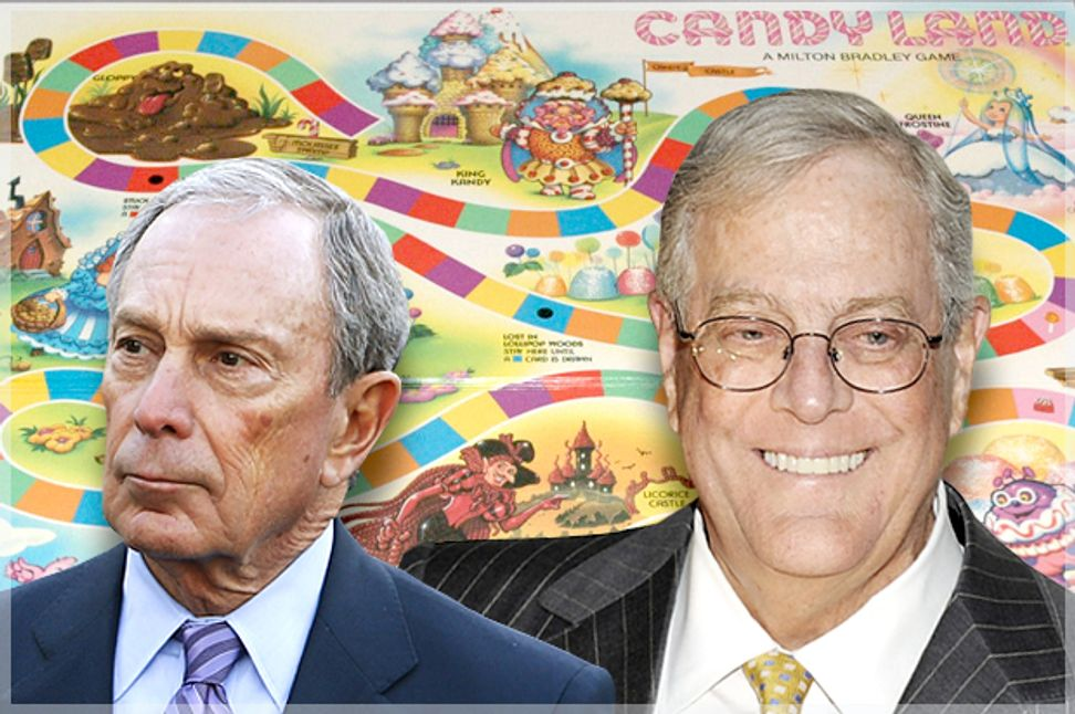 The 1 percent's twisted games: How they're distorting reality and diluting democracy