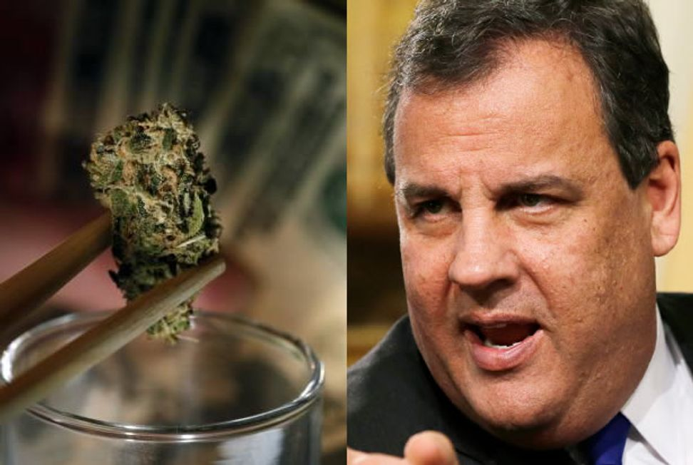 Smoke it while you can, Colorado — President Chris Christie will be gunning for your legal weed
