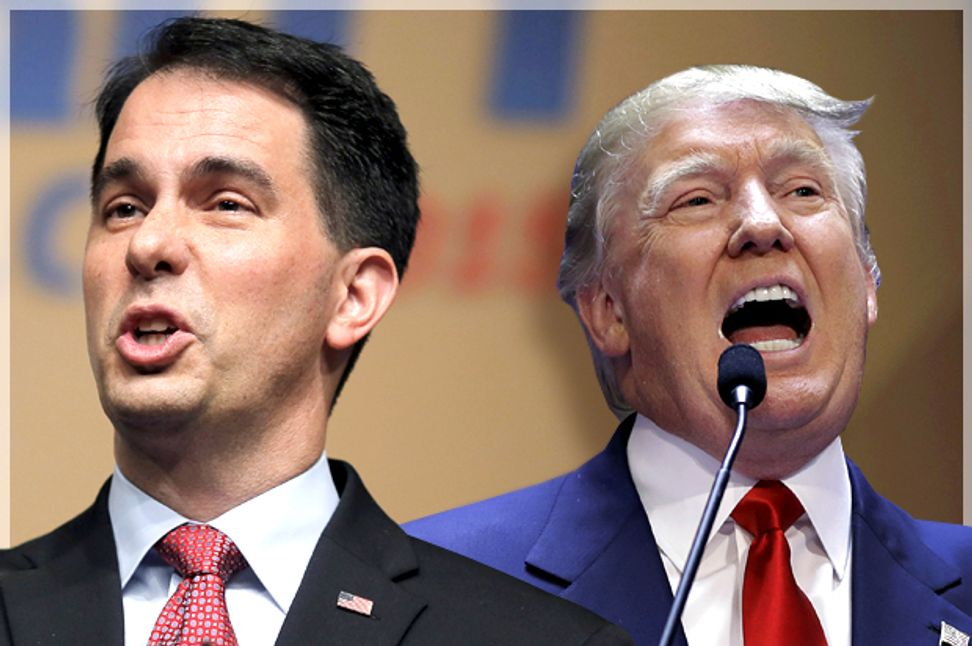 Scott Walker is a pastier Donald Trump: The Wisconsin governor's ethno-nationalism is just as egregious | Salon.com