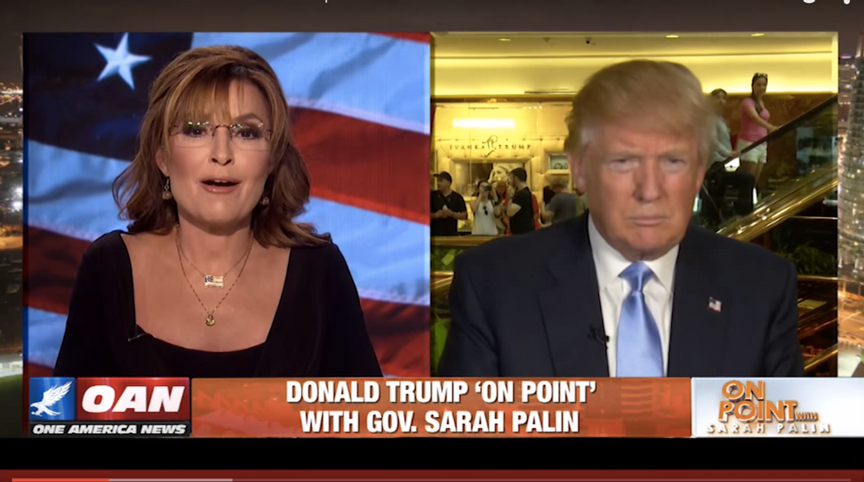This incoherent Donald Trump interview proves one thing: Sarah Palin's descent into obscurity is complete | Salon.com