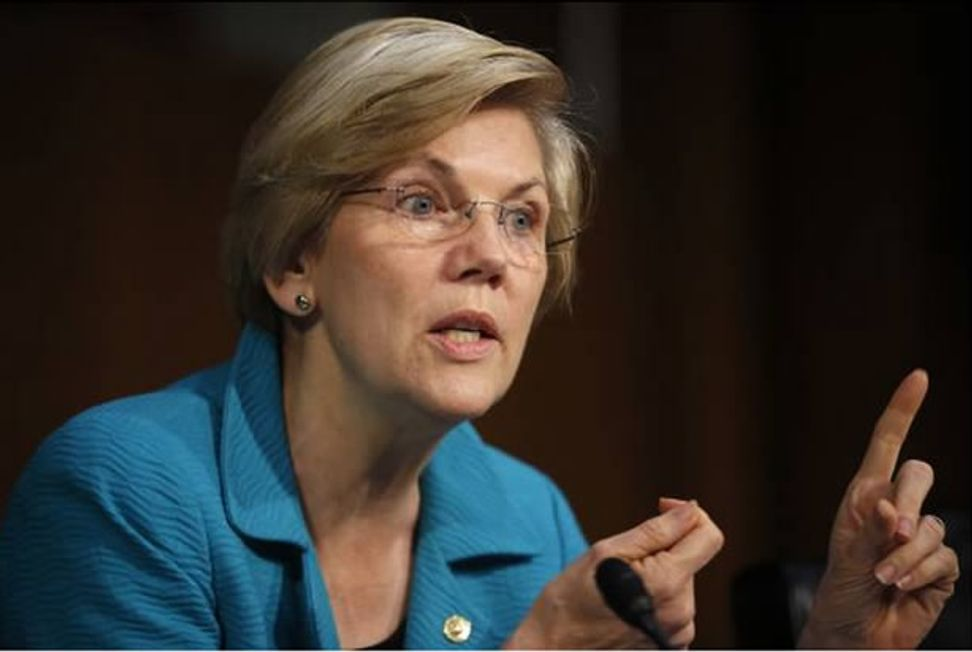 """Elizabeth Warren humiliates Senate GOP: """"Did you fall down, hit your head, and think you woke up in the 1950s or 1890s?"""""""