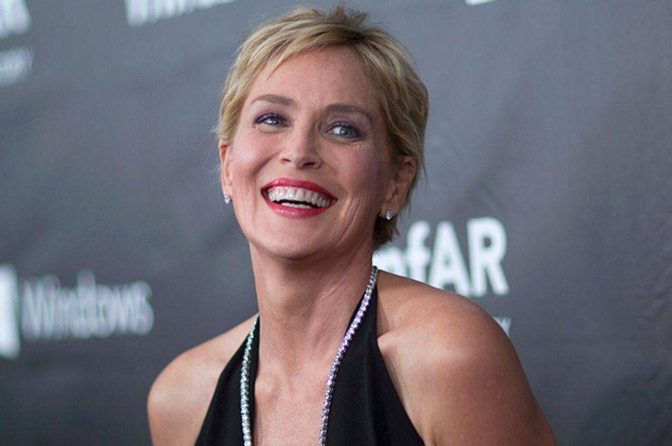 """Sharon Stone poses nude and opens up about brain aneurysm in Harper's Bazaar: """"It's like, I have brain damage; you'll just have to deal with it"""""""