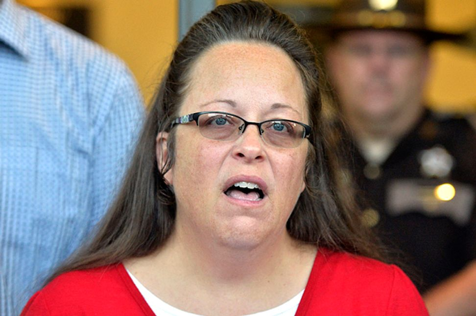 Christian fundamentalists' plot against the Constitution: What Kim Davis's newly unearthed emails reveal